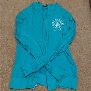 #Seaglass lightweight cotton hoodie